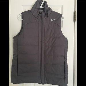 Nike Women's grey puffy vest